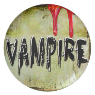Vampire Dinner Plates