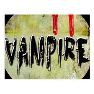 Vampire Post Card
