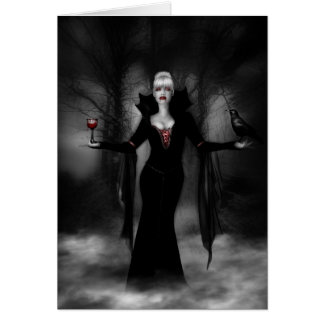 Vampire Queen Greeting Card
