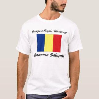Vampire Rights Movement - Romanian Delegate T-Shirt