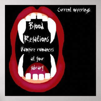 Vampire romances booklist print