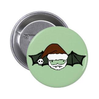Vampire Santa Bat 6 Cm Round Badge