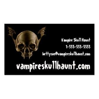 Vampire Skull Business Card
