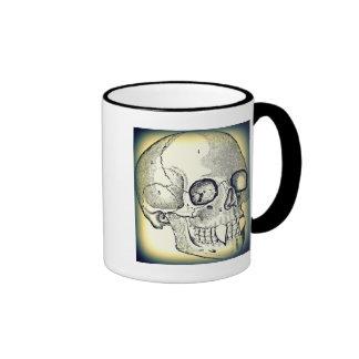 VAMPIRE SKULL PRINT (DARK EDGE) COFFEE MUGS