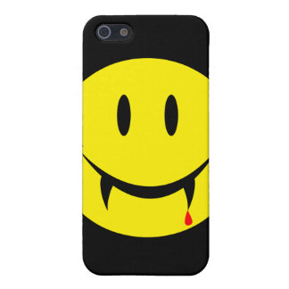 Vampire Smiley Face iPhone 5 Case