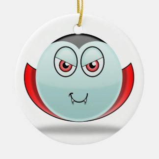 Vampire Smilie Ornament