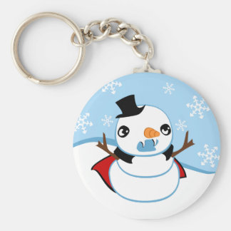 Vampire Snowman Key Ring