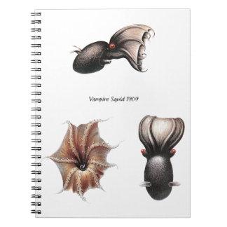 Vampire Squid Notebook