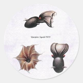 Vampire Squid Sticker