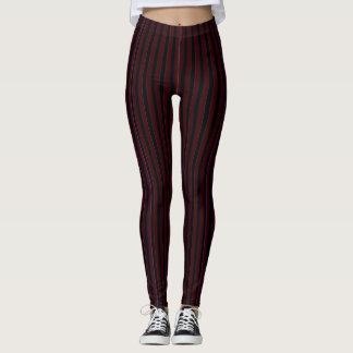Vampire Stripes Leggings