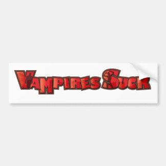Vampire Suck Bumper Sticker