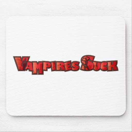 Vampire Suck Mouse Pad