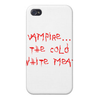 Vampire the Cold White Meat iPhone 4 Cases