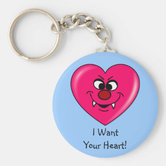 Vampire Valentine Give your heart to me Key Chains