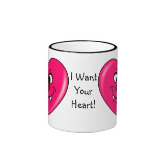 Vampire Valentine: Give your heart to me Mug
