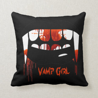 Vampire Vamp Girl Women's Pillow