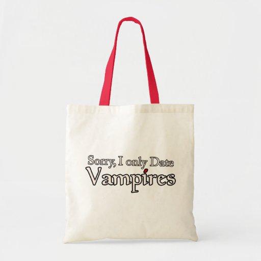 Vampire Vampires Fan Halloween Budget Tote Bag