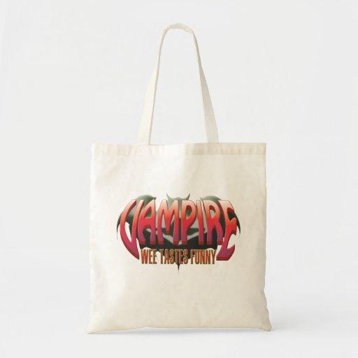 Vampire Wee Canvas Bags
