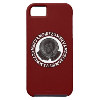 Vampire Zombie - Red & White Circle Case For The iPhone 5