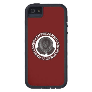 Vampire Zombie - Red & White Circle iPhone 5 Covers
