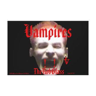 VampireArt TheRobGlass FangsV Vampires Ltd Edition Gallery Wrap Canvas