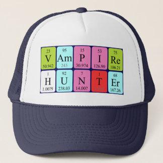 VampireHunter periodic table phrase hat