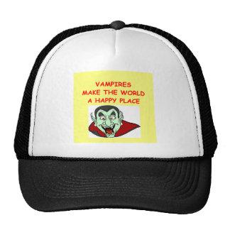 vampires trucker hat