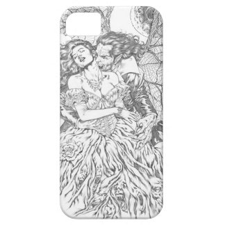 Vampire's Kiss by Al Rio - Vampire and Woman Art iPhone 5 Covers