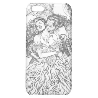 Vampire's Kiss by Al Rio - Vampire and Woman Art iPhone 5C Cases