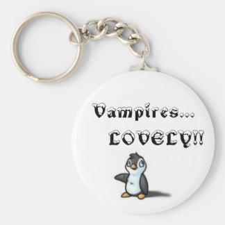 Vampires lovely - Customized Key Ring