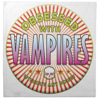Vampires Obsessed R Printed Napkins