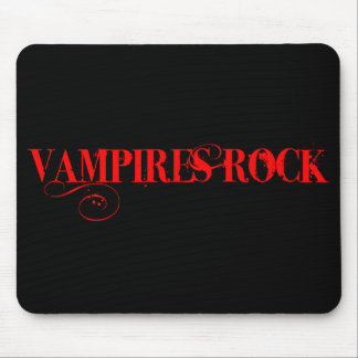 Vampires Rock Mouse Mat