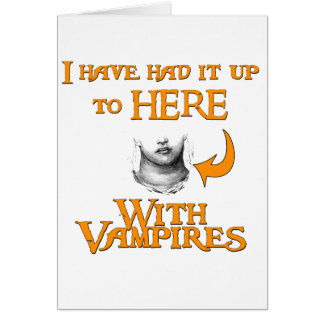 Vampires Suck Card