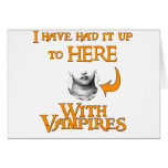 Vampires Suck Greeting Card