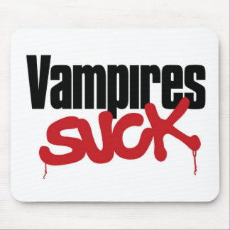 Vampires Suck Mouse Pad