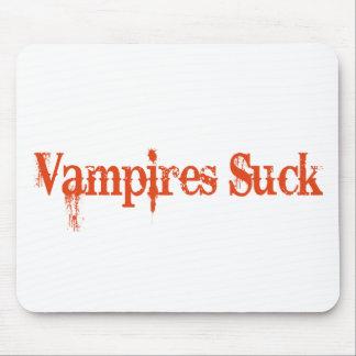 Vampires Suck Mouse Mats