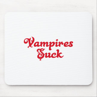 Vampires Suck Mouse Pads