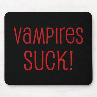 Vampires Suck Mousepads