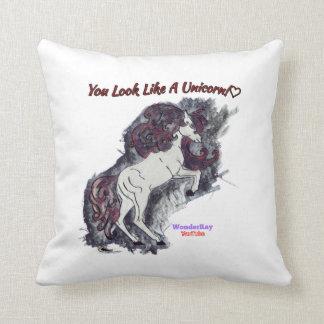 Vampiric Mist Throw Pillow