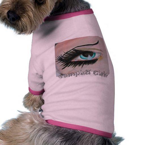 Vampish Girls eye Dog Tshirt
