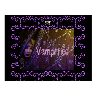 Vamplified 33      ... postcard