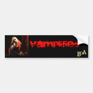 Vamplified Boa Bumper Sticker