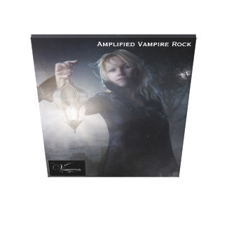 Vamplified Carrefour Vampir Stretched Canvas Prints