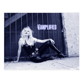 Vamplified Postcard