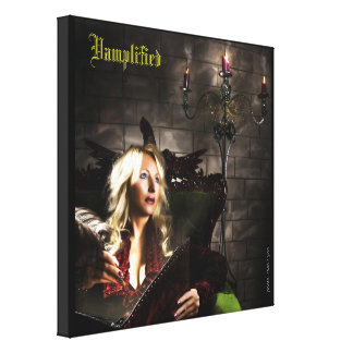 Vamplified® The Lyricist Gallery Wrapped Canvas