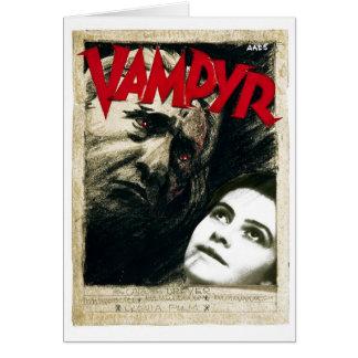 Vampyr Greeting Card