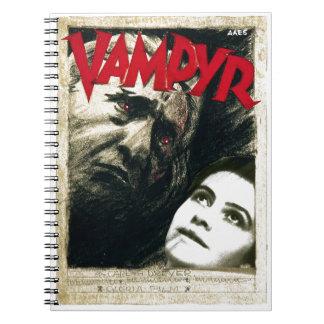Vampyr Spiral Note Book