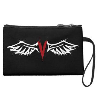 Vampyre Angel Wings Wristlet Purse
