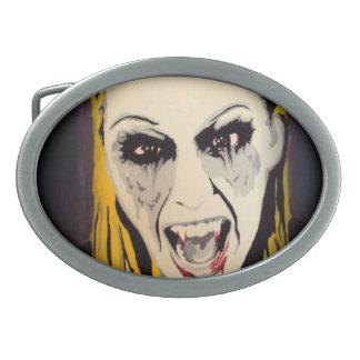 'Vampyre Shock!' Belt Buckle