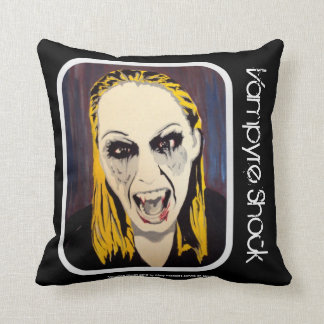 'Vampyre Shock' (Throw) American MoJo Pillow Throw Cushions